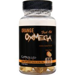 Controlled Labs Orange OxiMega Fish Oil Citrus Flavor 30 sgels