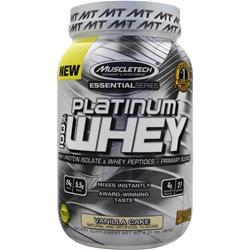 Muscletech Essential Series - Platinum 100% Whey Vanilla Cake 2 lbs