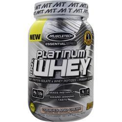 MUSCLETECH Essential Series - Platinum 100% Whey Cookies and Cream 2 lbs