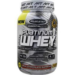 Muscletech Essential Series - Platinum 100% Whey Milk Chocolate Supreme 2.01 lbs