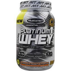 Muscletech Essential Series - Platinum 100% Whey Chocolate PB Cup 2.01 lbs