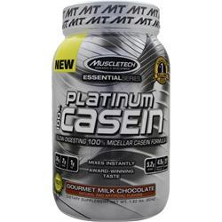 Muscletech Essential Series - Platinum 100% Casein Gourmet Milk Chocolate 1.82 lbs