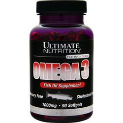 ULTIMATE NUTRITION Omega 3 90 sgels