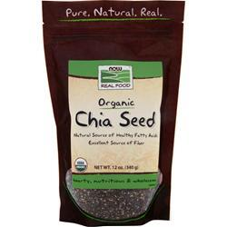 NOW Organic Chia Seed 12 oz