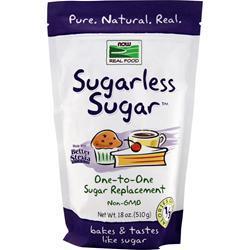 Now Sugarless Sugar 18 oz