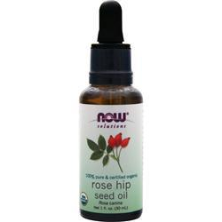 NOW 100% Pure & Certified Organic Rose Hip Seed Oil 1 fl.oz
