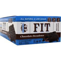 LENNY AND LARRY'S FIT Protein Brownie Chocolate Decadence 12 bars