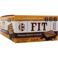LENNY AND LARRY'S FIT Protein Brownie Peanut Butter Crunch 12 bars