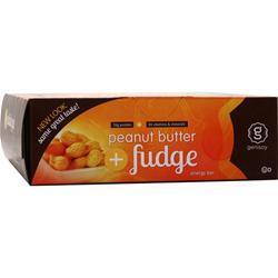 Genisoy Energy Bar Peanut Butter + Fudge 12 bars