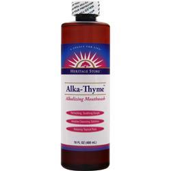 HERITAGE PRODUCTS Alka-Thyme - Alkalizing Mouthwash 16 oz