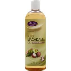 Life-Flo Pure Macadamia Oil 16 fl.oz