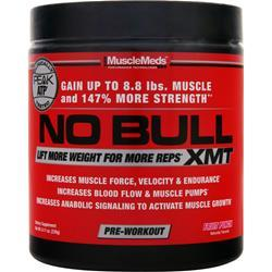MuscleMeds No Bull XMT - Pre Workout Fruit Punch 230 grams