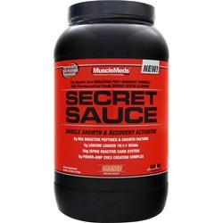 MUSCLEMEDS Secret Sauce - Muscle Growth & Recovery Activator Orange 3.12 lbs