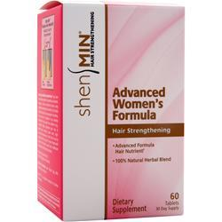 SHEN MIN Advanced Women's Formula Hair Strengthening 60 tabs