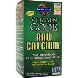 GARDEN OF LIFE Vitamin Code - Raw Calcium 120 vcaps