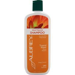 AUBREY Island Naturals Shampoo - Tropical Repair Avocado Oil & MangoButter 11 fl.oz