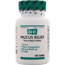 HEEL BHI - Mucus Relief 100 tabs