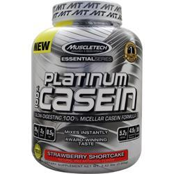 Muscletech Essential Series - Platinum 100% Casein Strawberry Shortcake 3.62 lbs