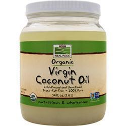 NOW Virgin Coconut Oil (Certified Organic) 54 fl.oz