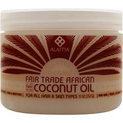 ALAFFIA Fair Trade African Coconut Oil 11 oz