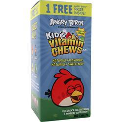 NATROL Angry Birds - Kid's Vitamin Chews  BEST BY 11/15 180 tabs