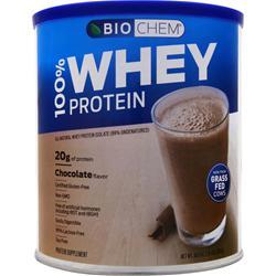 BIOCHEM 100% Whey Protein Isolate - Grass Fed Natural Chocolate 878 grams