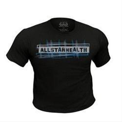 All Star Health T-Shirt (Women's Fitted) Black (XL) 1 shirt
