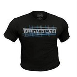 ALL STAR HEALTH T-Shirt Black (S) 1 unit