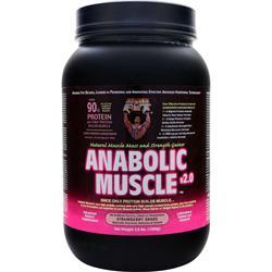 HEALTHY N FIT Anabolic Muscle v2.0 Strawberry Shake 3.5 lbs