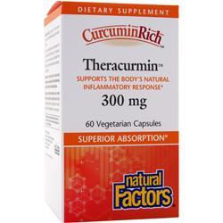 NATURAL FACTORS CurcuminRich Theracurmin (300mg) 60 vcaps