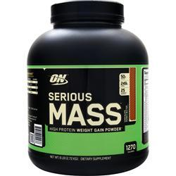 OPTIMUM NUTRITION Serious Mass Chocolate Peanut Butter 6 lbs