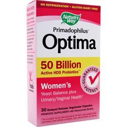 Nature's Way Primadophilus Optima 50 Billion - Women's 30 vcaps