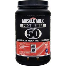 CYTOSPORT Muscle Milk Pro Series 50 Strawberries 'N Creme 2.54 lbs