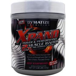 DYMATIZE NUTRITION Xpand Power & Performance - 2X Muscle Igniter Red Raspberry .88 lbs