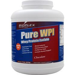 BIOPLEX NUTRITION Pure WPI - Whey Protein Isolate Chocolate 5 lbs