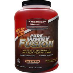 Champion Nutrition Pure Whey Fusion Chocolate 5 lbs