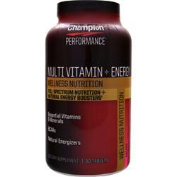 Champion Nutrition Multi Vitamin plus Energy 90 tabs