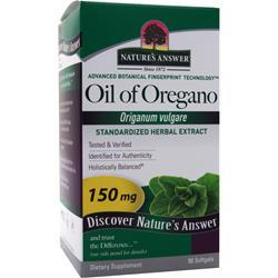 NATURE'S ANSWER Oil of Oregano 90 sgels