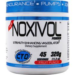CTD Noxivol Powder Fruit Punch 320 grams