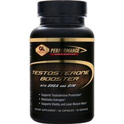 OLYMPIAN LABS Testosterone Booster with DHEA and DIM 60 caps