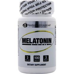 Applied Nutriceuticals Melatonin (3mg) 100 tabs
