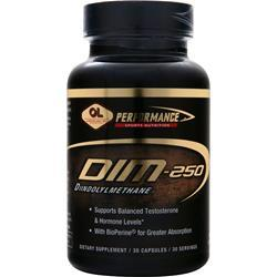 OLYMPIAN LABS Performance Sports Nutrition - DIM (250mg) 30 caps