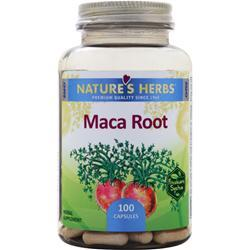 Nature's Herbs Maca Root Extract - Standardized Extract 100 caps