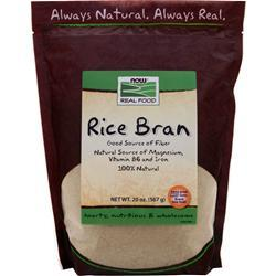 Now Rice Bran 20 oz