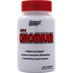 NUTREX RESEARCH Lipo-6 Chromium 100 lcaps