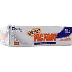 ISS RESEARCH Victory Bar Cookies & Creme 12 bars