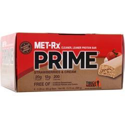 MET-RX Prime Bar Strawberries & Cream 6 bars