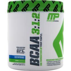 MUSCLE PHARM BCAA 3:1:2 Blue Raspberry .47 lbs