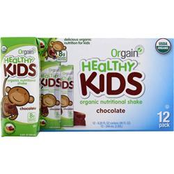 Orgain Healthy Kids RTD Chocolate 12 pck