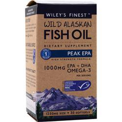 WILEY'S FINEST Wild Alaskan Fish Oil - Peak EPA 30 sgels